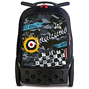 Рюкзак на колесиках Roller White Fire Nikidom Camo арт. 9024 (19 литров)